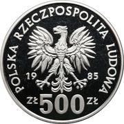 500 Złotych (40th Anniversary of the UN) -  obverse