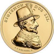 500 Złotych (Sigismundus III) – reverse