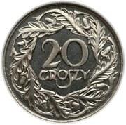 20 Groszy (Proof) – reverse