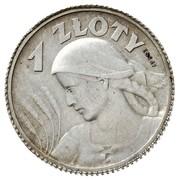 1 Złoty (Women and Ears; Trial Strike) – reverse
