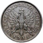 5 Złotych (March Constitution Trial Strike Ag 100 Beads SW WG on obverse) -  obverse