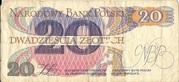 20 Złotych – reverse