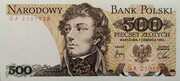 500 Zlotych -  obverse
