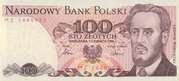 100 Złotych – obverse