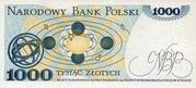 1000 Zlotych – reverse