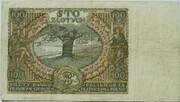 100 Złotych – reverse