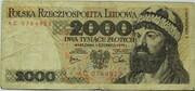 2000 Złotych – obverse