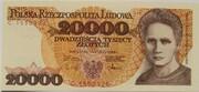 20000 Złotych – obverse