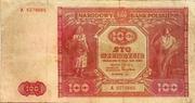 100 Zlotych – obverse