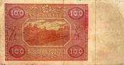 100 Zlotych – reverse