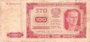100 Zloty 1948 – obverse