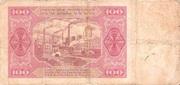 100 Zloty 1948 – reverse
