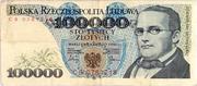 100 000 Zlotych – obverse