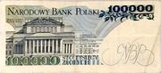 100 000 Zlotych – reverse