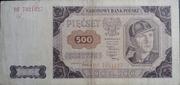 500 zloty – obverse