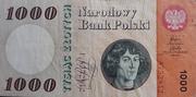 1 000 Zloty – obverse