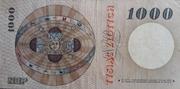 1 000 Zloty – reverse