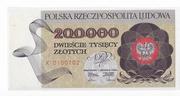 200,000 Złotych – obverse