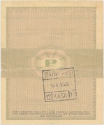 10 Cents (Foreign Exchange Certificate) – reverse