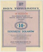 10 Dollars (Foreign Exchange Certificate) – obverse