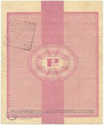 50 Dollars (Foreign Exchange Certificate) – reverse