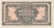 500 Złotych – reverse