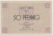 50 Pfennig (Getto) – obverse
