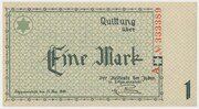 1 Mark (Getto) – obverse