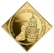 500 Złotych (100th Anniversary of the Birth of Saint John Paul II ) – reverse