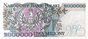 2,000,000 Złotych – reverse