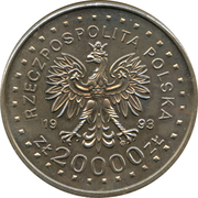 20 000 Złotych (Lillehammer 1994) -  obverse