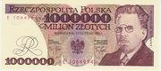 1,000,000 Złotych – obverse