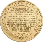 500 Złotych (Vladislaus IV) – obverse