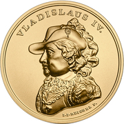 500 Złotych (Vladislaus IV) – reverse