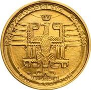 100 Złotych (Mikołaj Kopernik; Trial Strike) – obverse