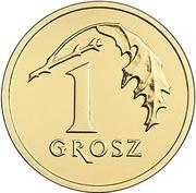1 Grosz (magnetic) -  reverse