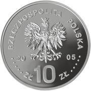 10 Złotych (Stanisław August Poniatowski) -  obverse