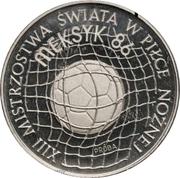 500 Złotych (Football World Cup; Trial Strike) -  obverse