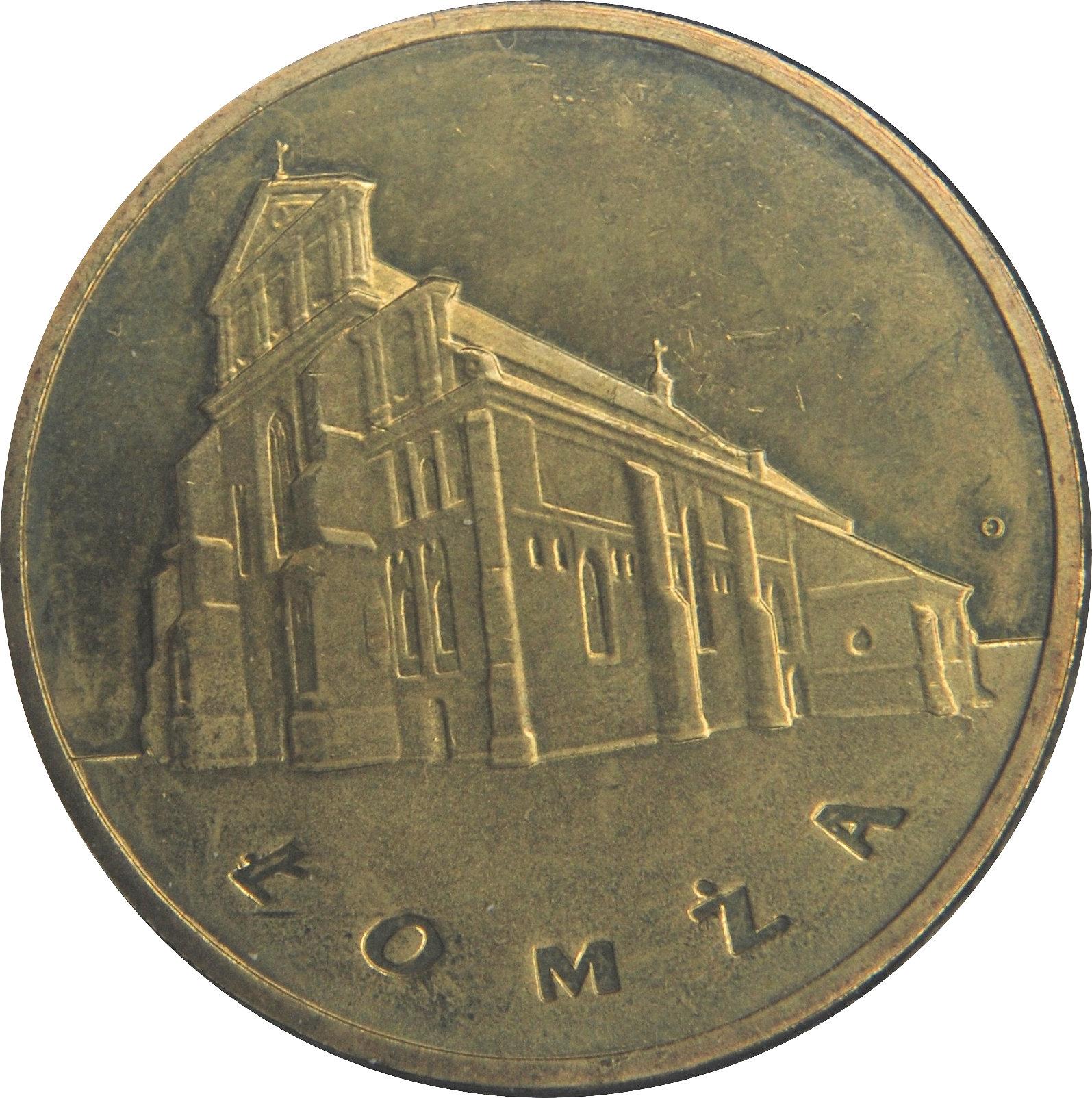 2 злотых ломжа набор юбилейных монет цена