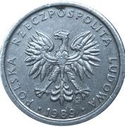 1 Złoty (small type) -  obverse