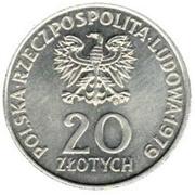 20 Złotych (International Year of the Child) -  obverse