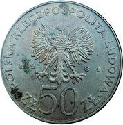 50 Złotych (Bolesław II Śmiały) -  obverse