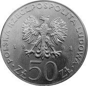 50 Złotych (Władysław  I Herman) -  obverse