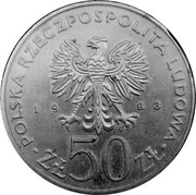 50 Złotych (Great Theatre) -  obverse