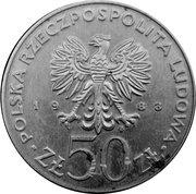 50 Złotych (Jan III Sobieski) -  obverse