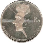 100 Złotych (Death of Marie Curie) -  obverse