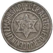 10 Pfennig Lodz Ghetto 2nd emission – obverse