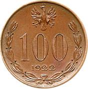 100 Marek (Without nominal; Trial Strike B) – obverse