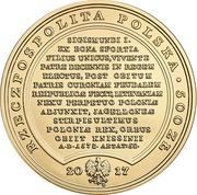 500 Złotych (Sigismundus Augustus) – obverse