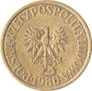 5 Złotych (1st Eagle Design) -  obverse